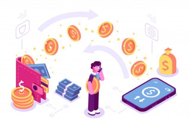 Перевод денег между банковскими счетами