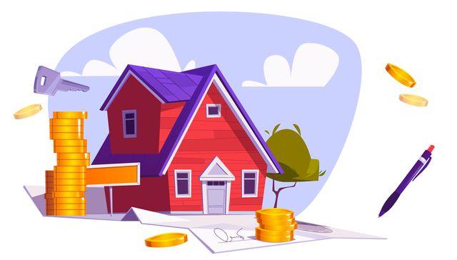Купленный по ипотеке дом и драгоценные монеты