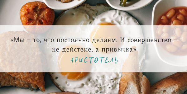 Изречение Аристотеля о привычках и совершенстве