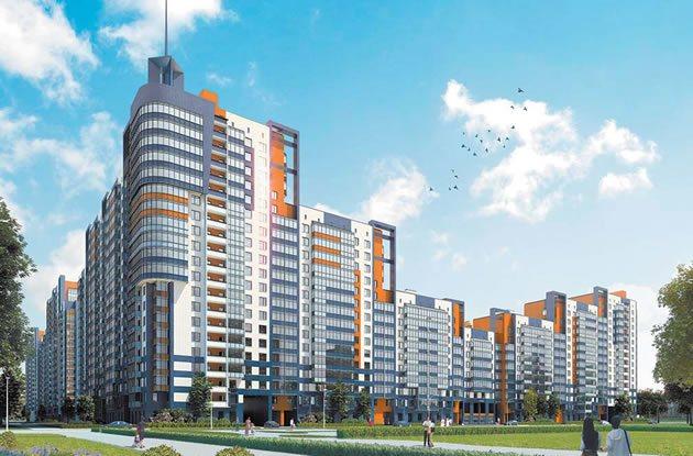 Проект жилого комплекса «Жемчужный фрегат» в Санкт-Петербурге