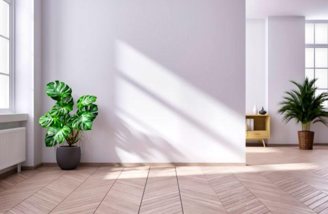 Минималистичный интерьер в гостиной дома